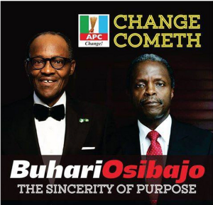 Nigerian election poster