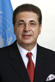 Portrait of Srgjan Kerim of the former Yugoslav Republic of Macedonia, President-elect of the 62nd session of the United Nations General .